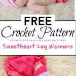 1. Free Crochet Pattern Sweetheart Leg Warmers