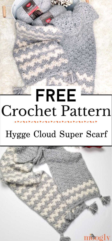 1. Hygge Cloud Super Scarf