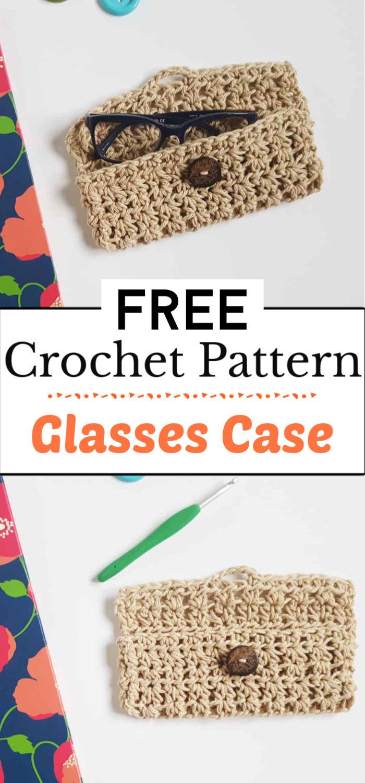 2. Crochet Glasses Case Pattern