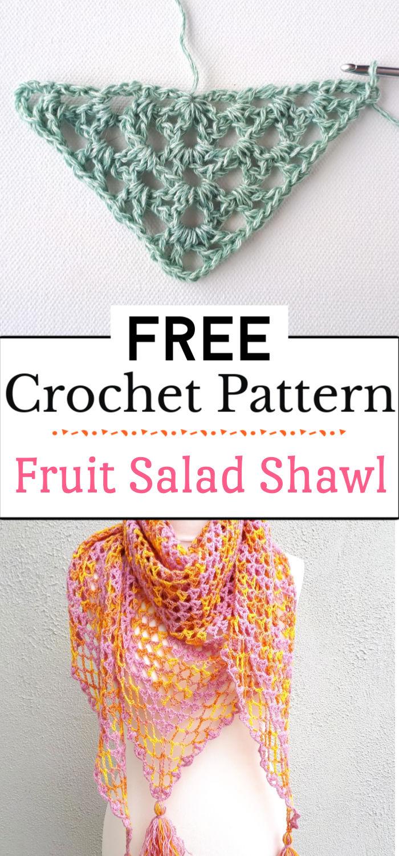 3. Fruit Salad Shawl