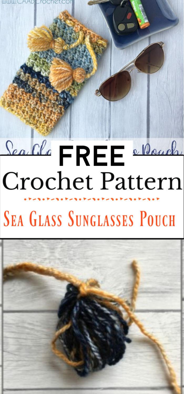3. Sea Glass Sunglasses Pouch