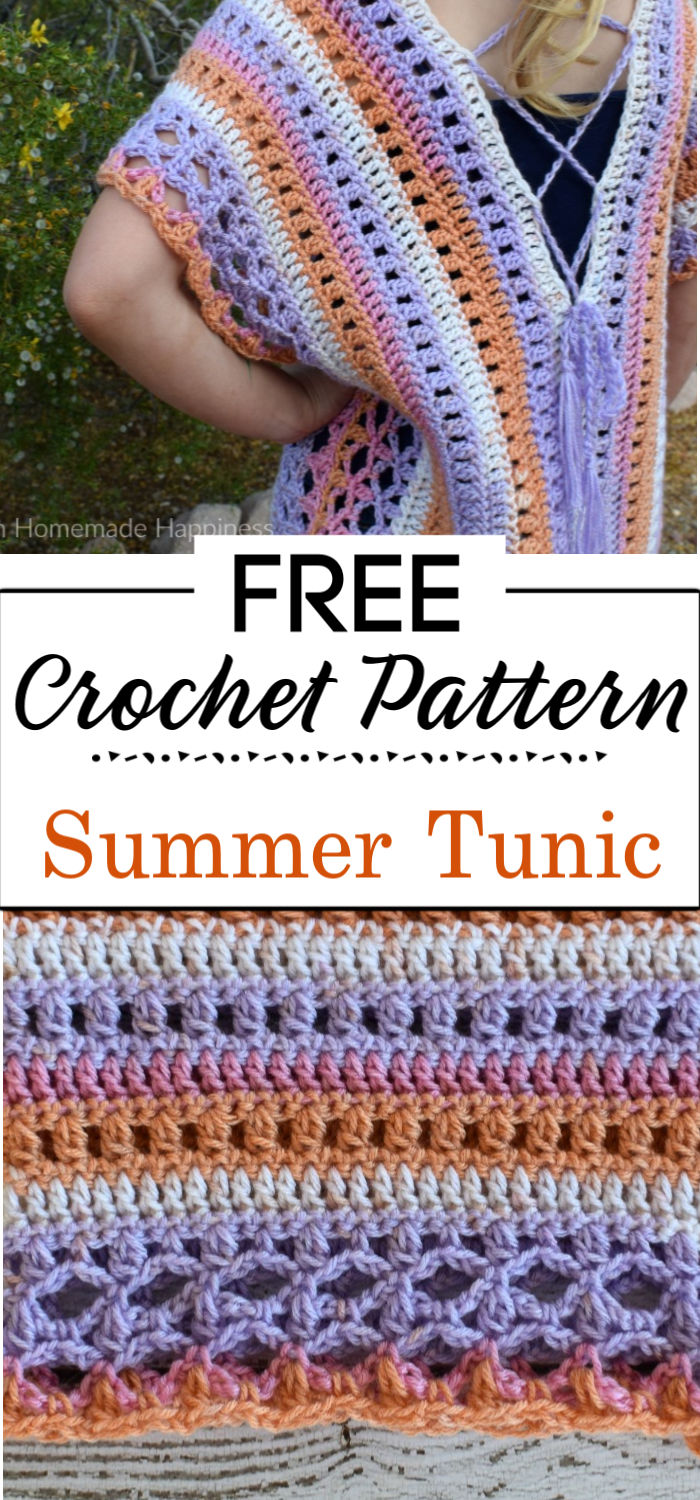 3. Summer Tunic Crochet Pattern