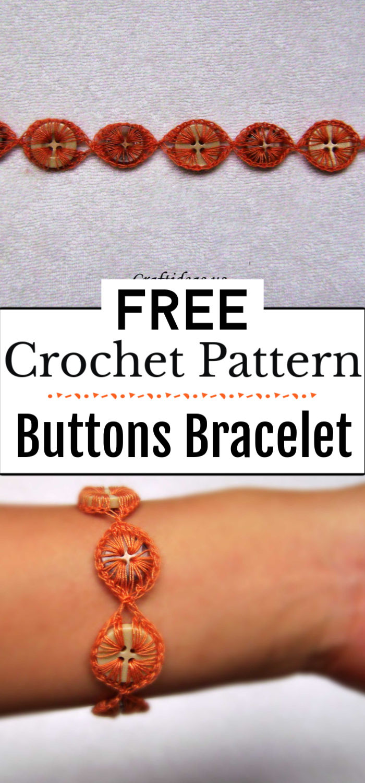 3.Buttons Bracelet