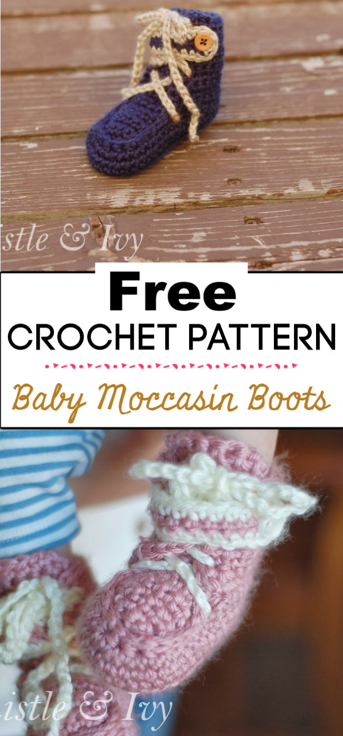 4. Baby Moccasin Boots