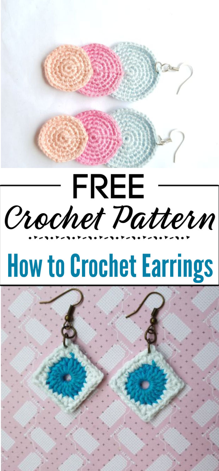 4. How to Crochet Earrings