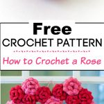 5. How to Crochet a Rose 2