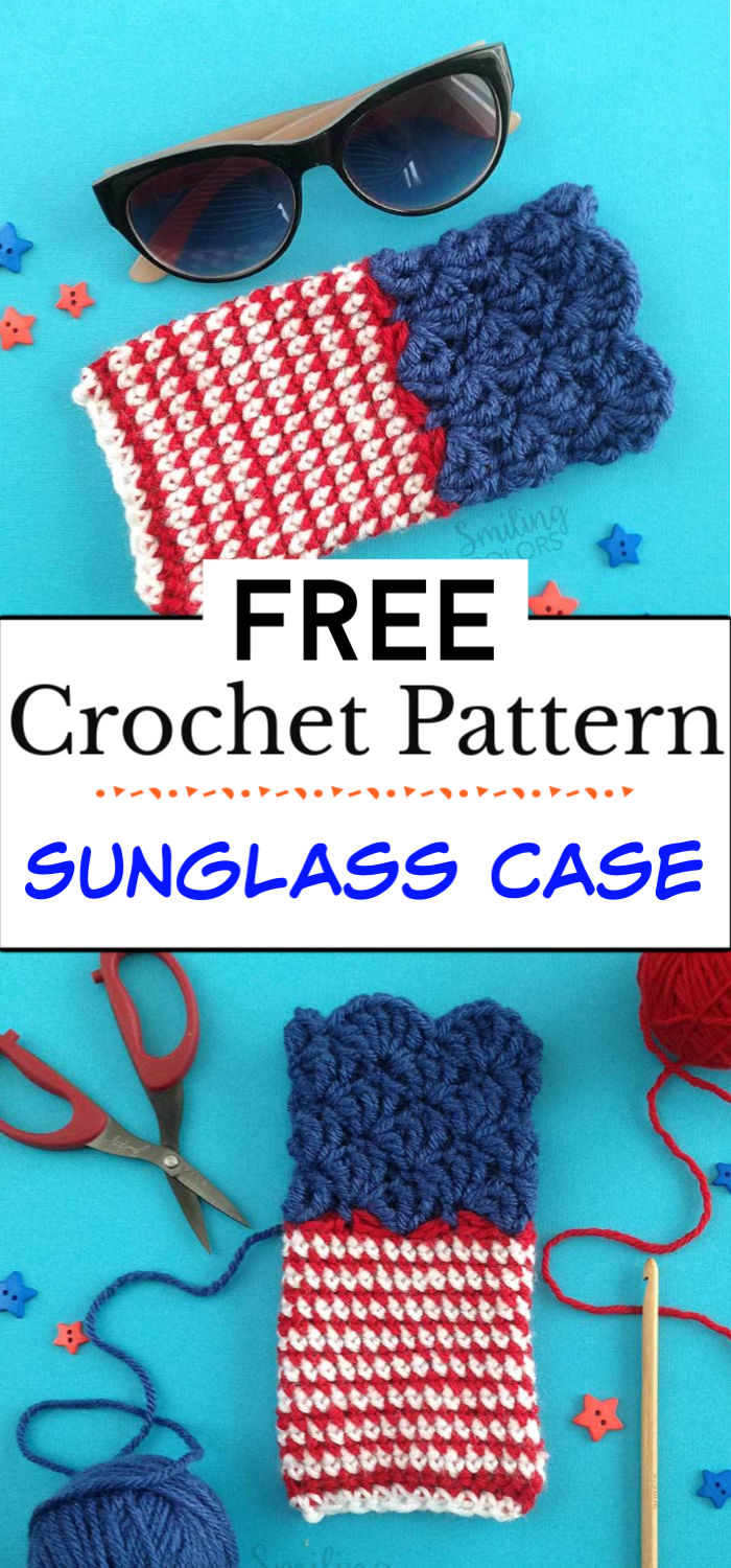 5. Sunglass Case With A Free Pattern