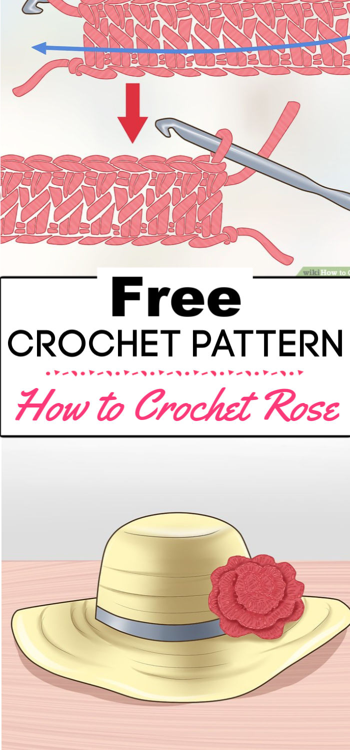 6. How to Crochet Roses 1