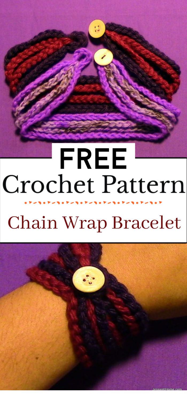 6.Chain Wrap Bracelet