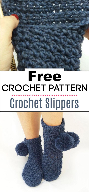6.Crochet Slippers