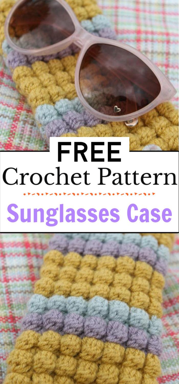 7. Crochet Pattern Sunglasses Case