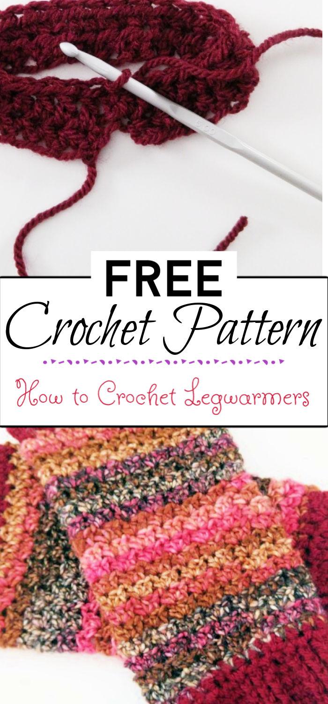 7. How to Crochet Legwarmers
