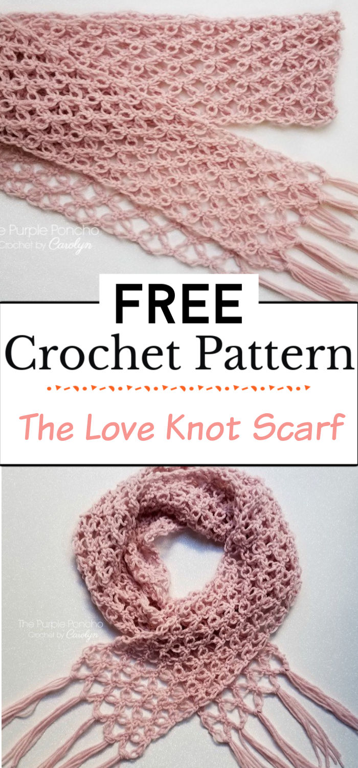 7. The Love Knot Scarf