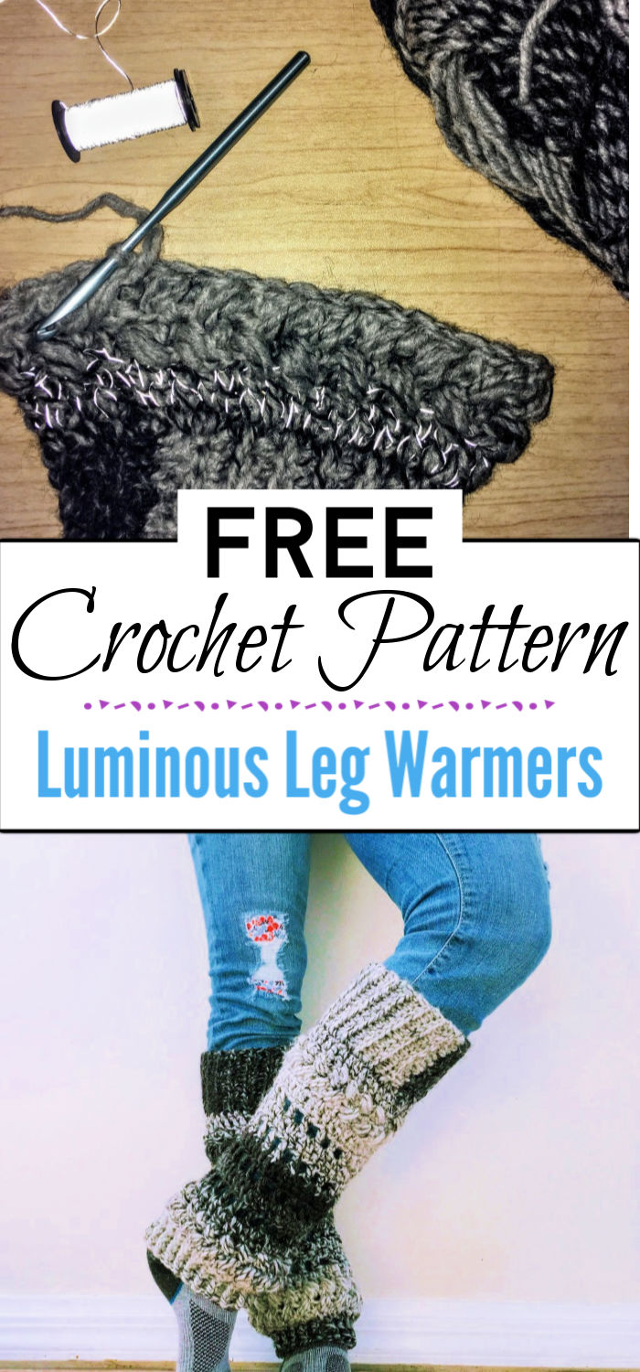 8. Luminous Leg Warmers Pattern