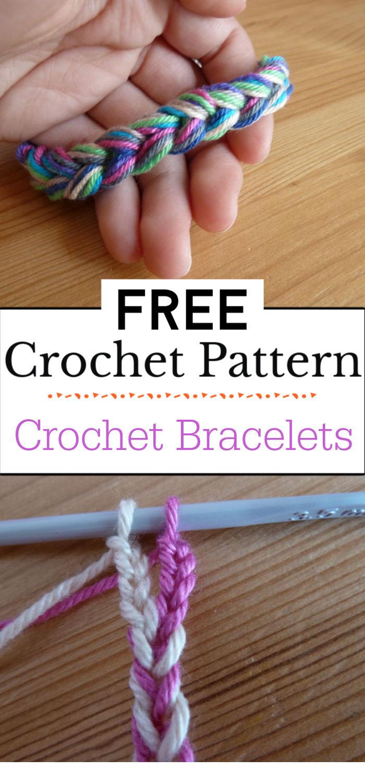 8.Crochet Bracelets