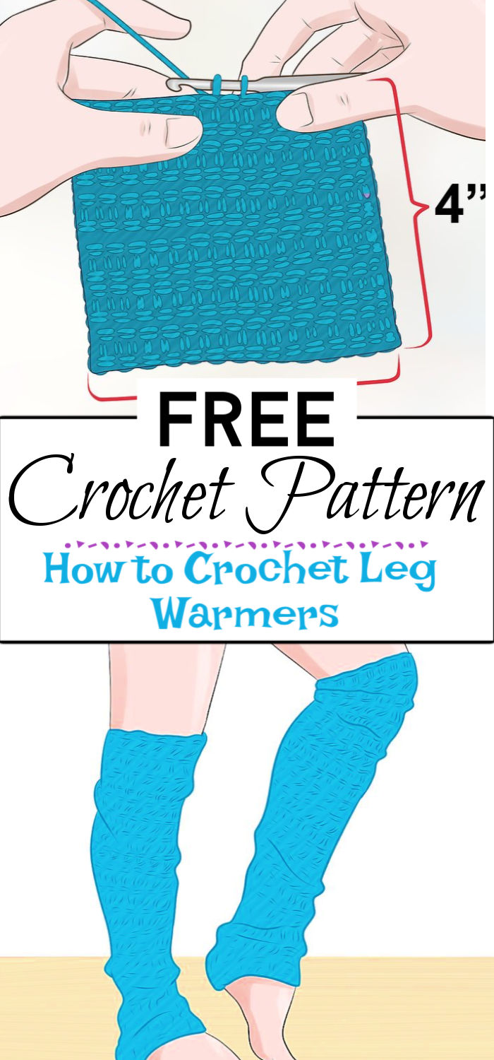 91. How to Crochet Leg Warmers