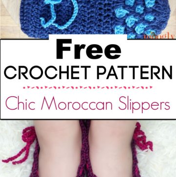 91.Chic Moroccan Slippers
