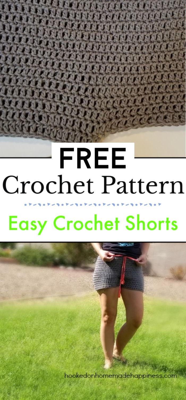 1. Easy Crochet Shorts