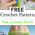 2. Free Crochet Shorts Pattern