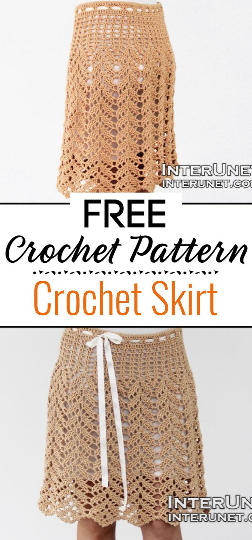 3. Crochet Skirt