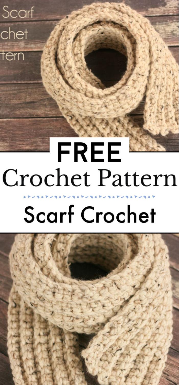 5. Free Scarf Crochet Pattern