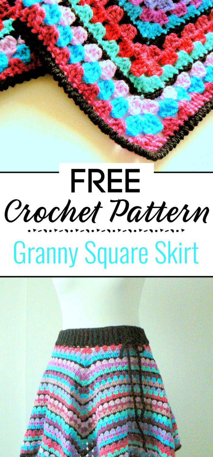 5. Granny Square Skirt The Pattern