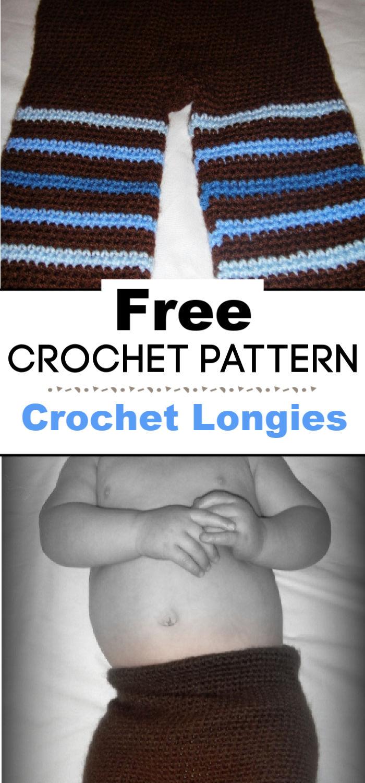 7. Crochet Longies Free Crochet Pattern