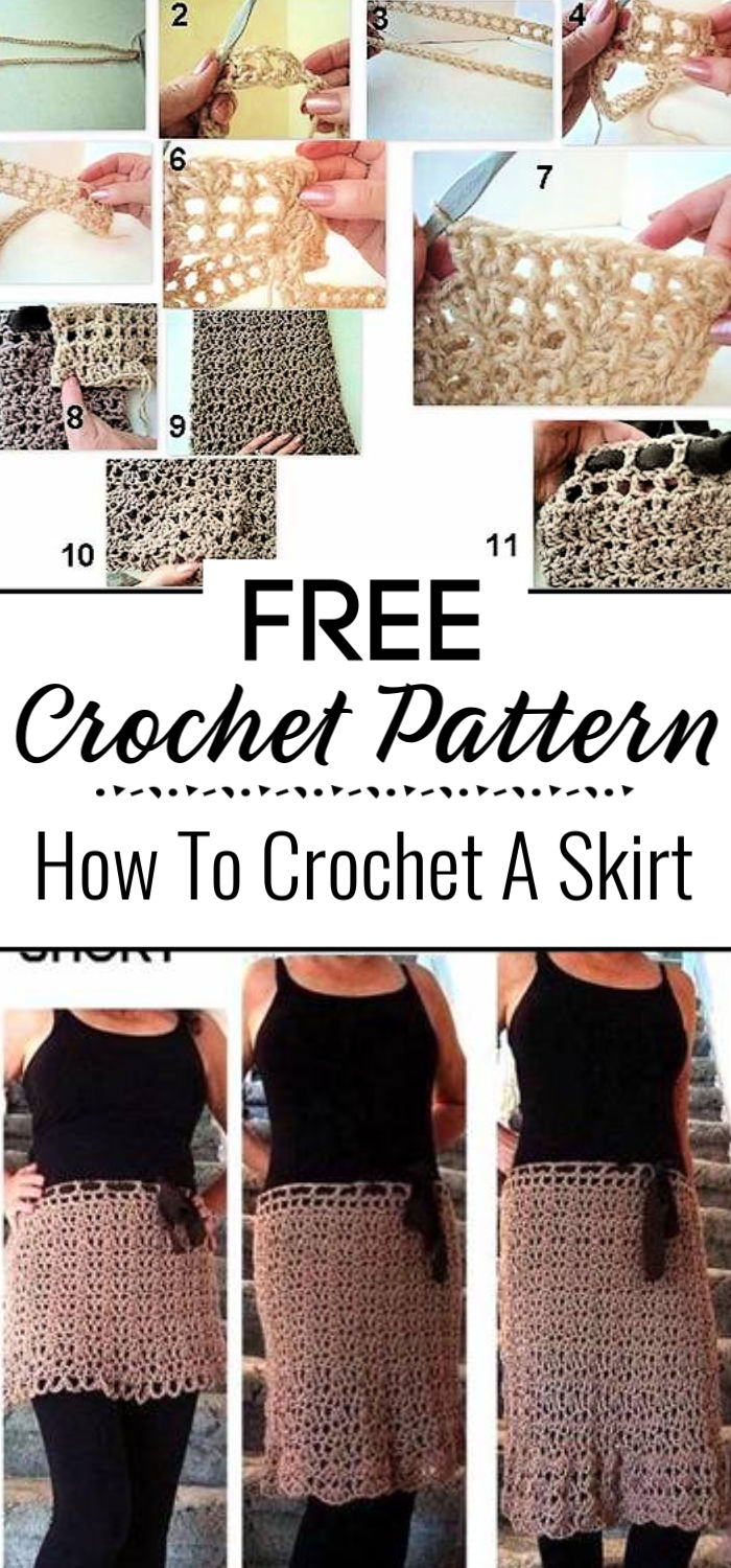7. How To Crochet A Skirt
