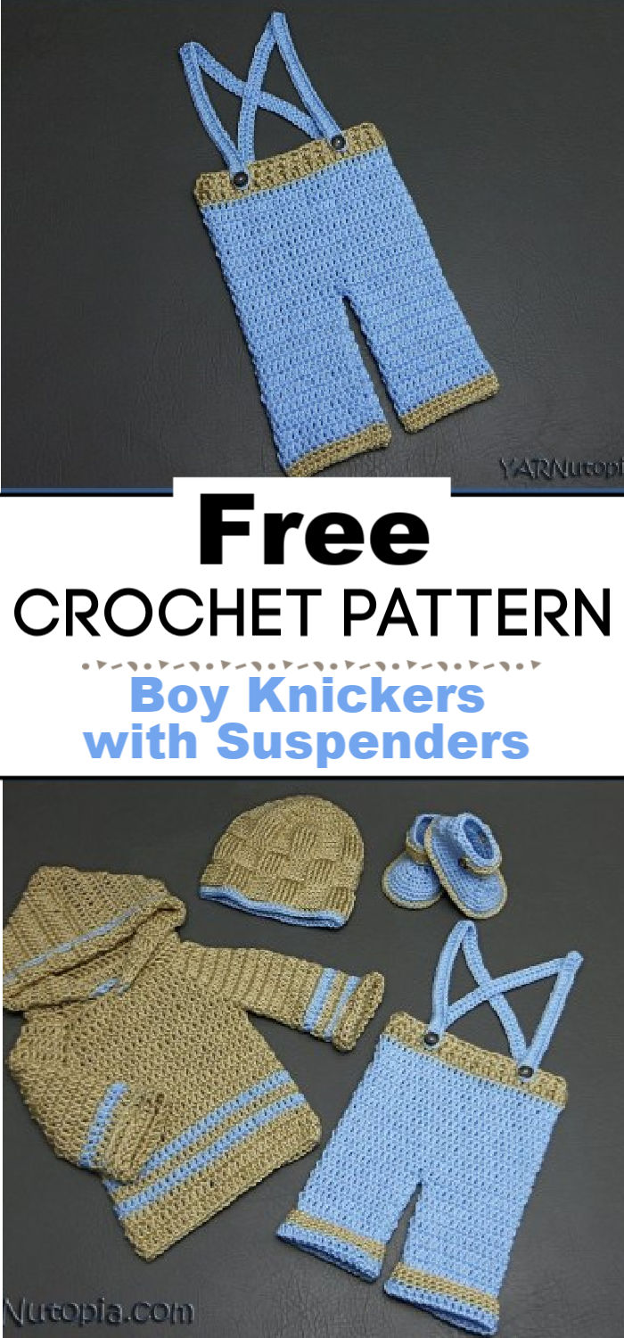 8. Baby Boy Knickers with Suspenders