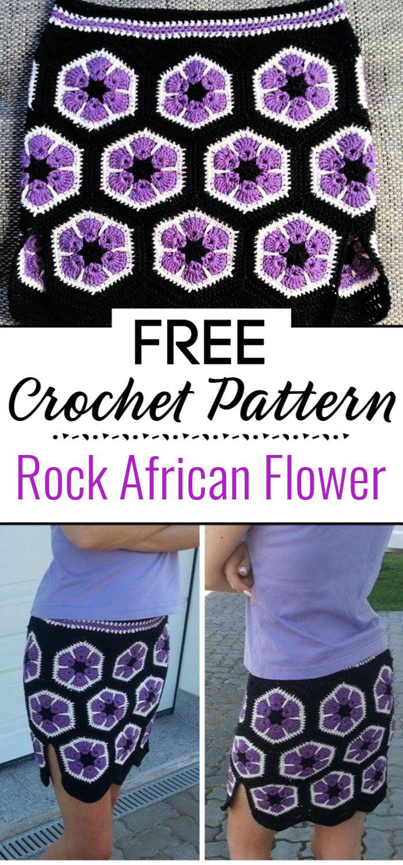 9. Rock African Flower