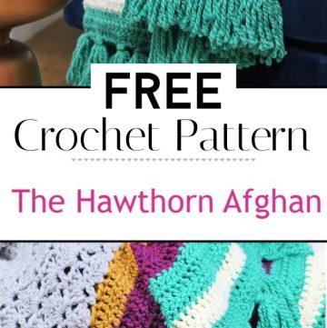 92. The Hawthorn Afghan Free Crochet Afghan Pattern