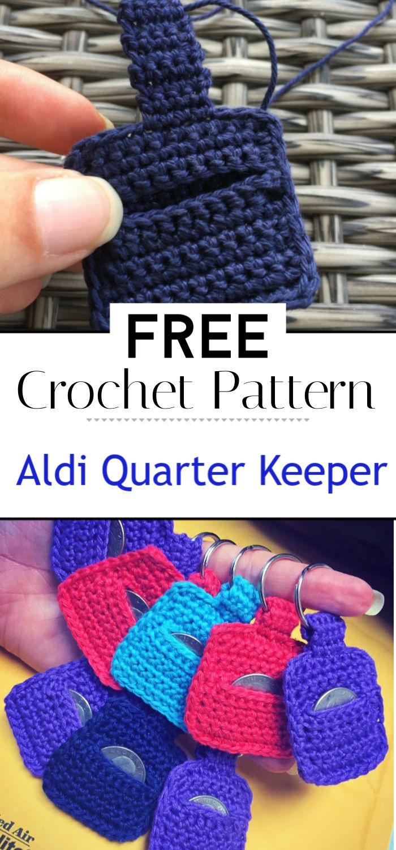 Aldi Quarter Keeper Free Crochet Pattern
