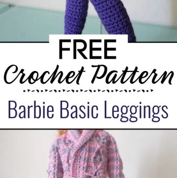 Barbie Basic Leggings Free Crochet Pattern