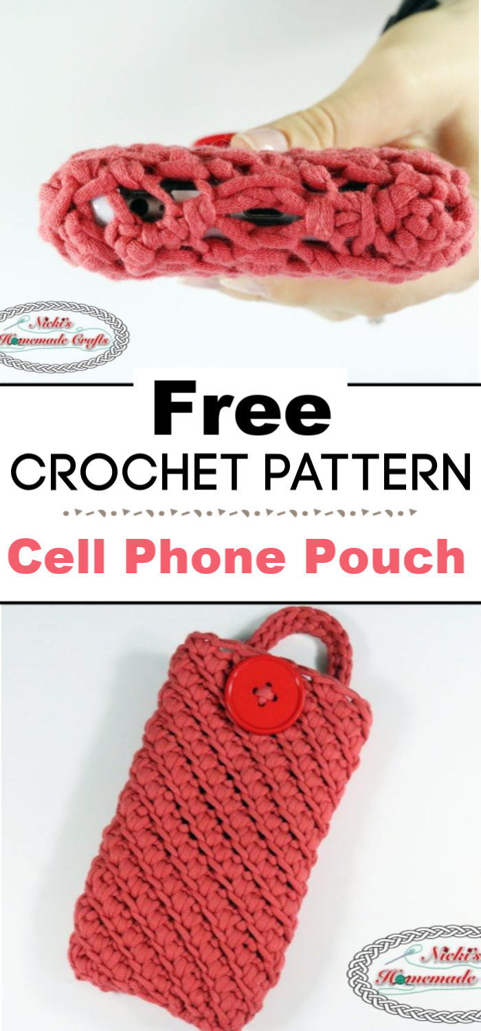 Cell Phone Pouch Free Crochet Pattern