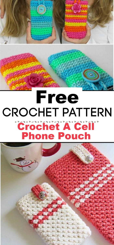 Crochet A Cell Phone Pouch