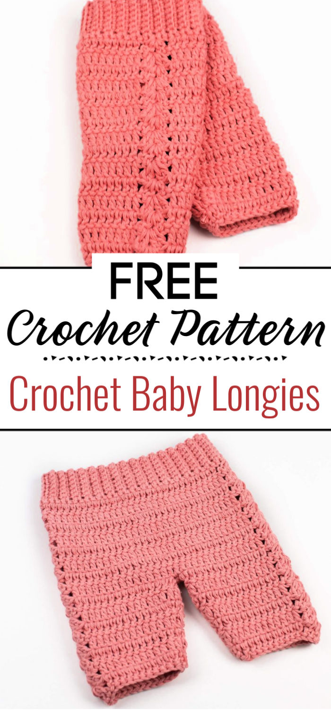 Crochet Baby Longies