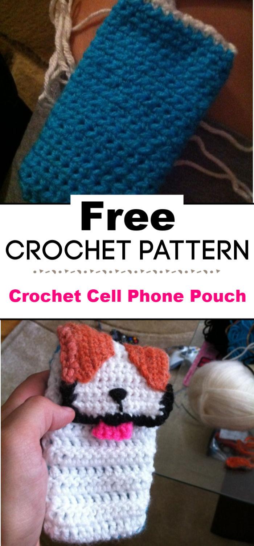 Crochet Cell Phone Pouch