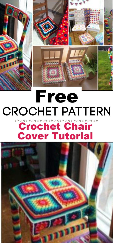 Crochet Chair Cover Tutorial