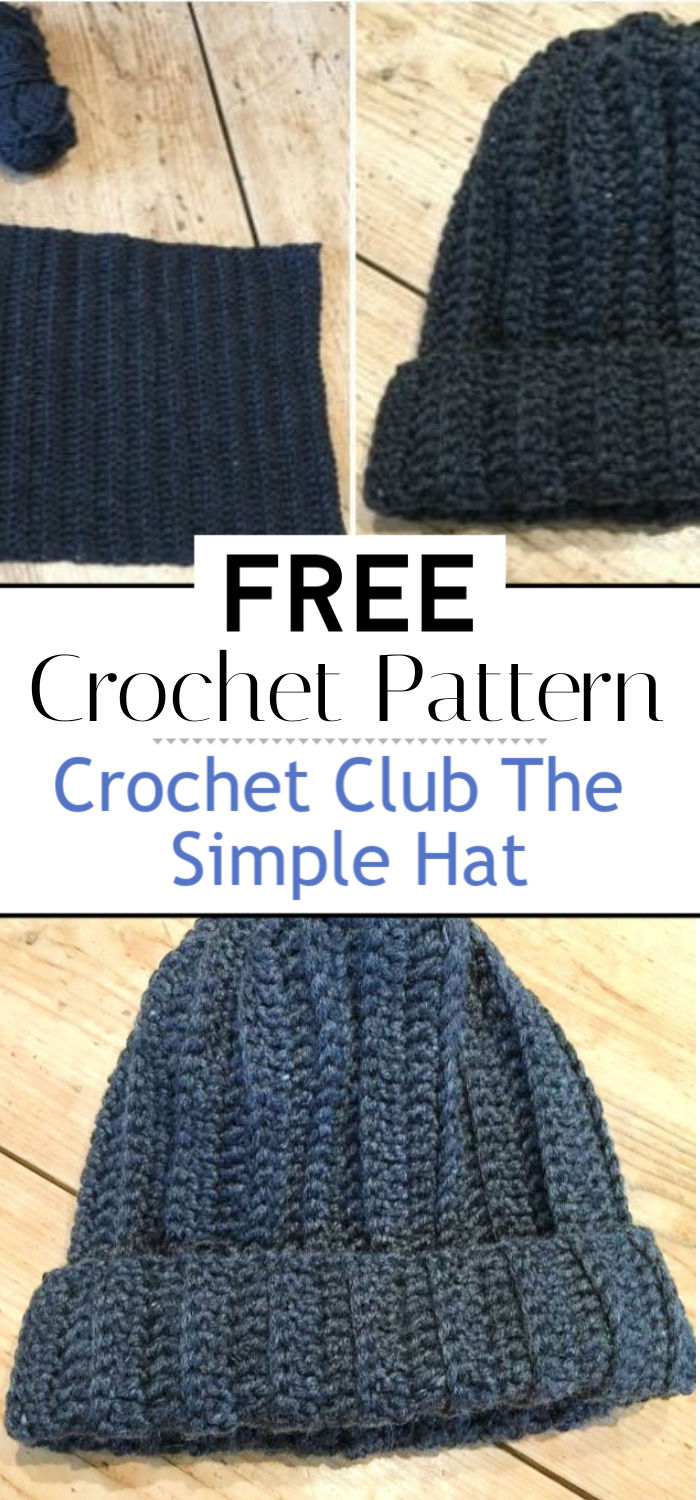 Crochet Club The Simple Hat