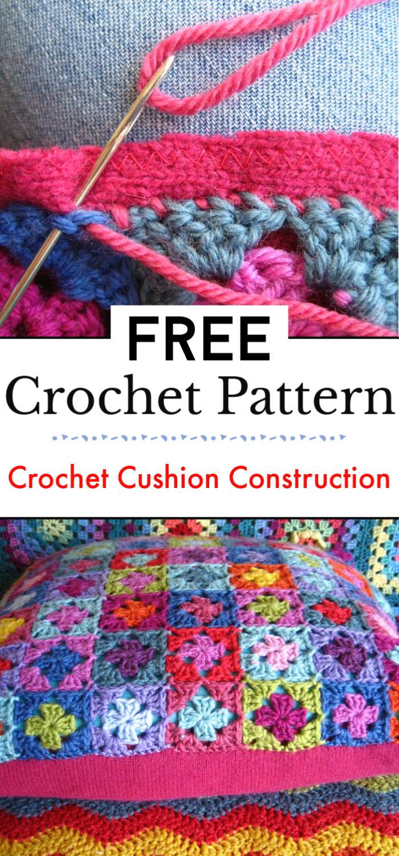 Crochet Cushion Construction