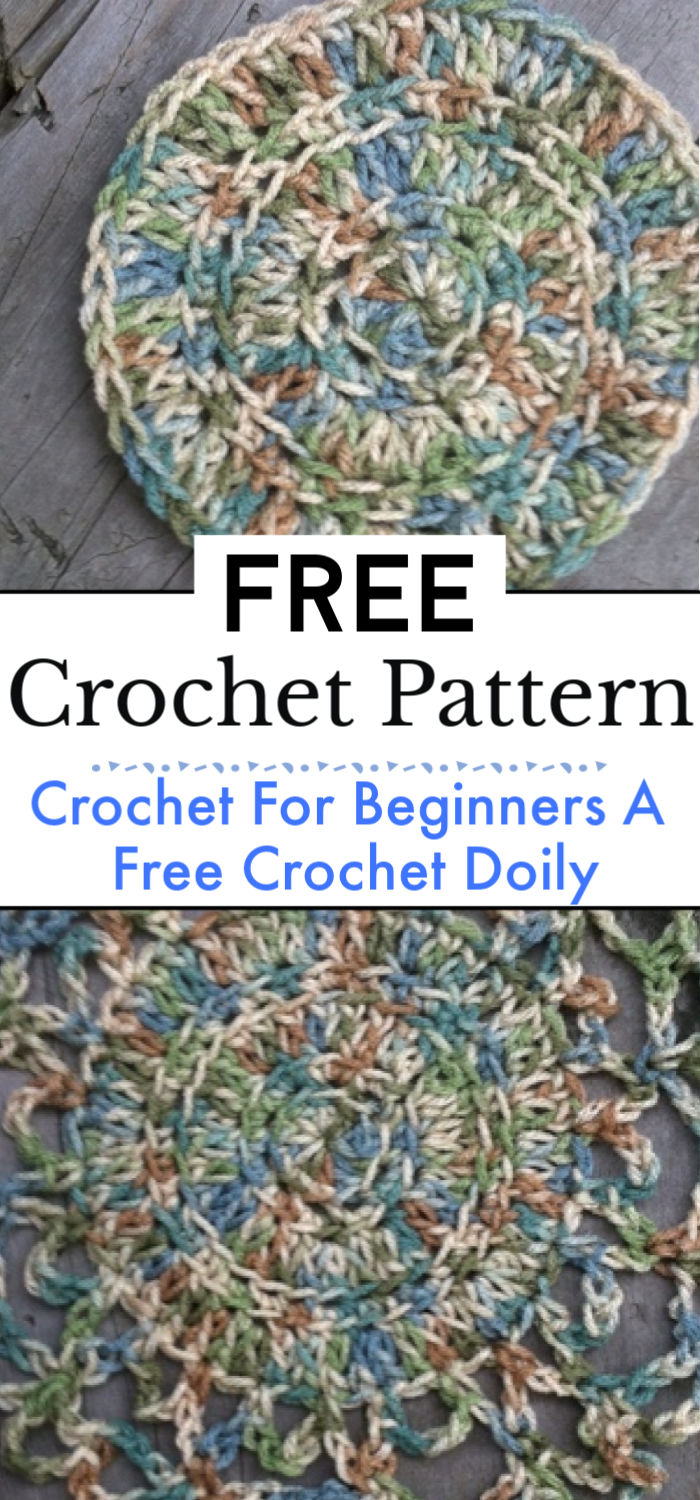 Crochet For Beginners A Free Crochet Doily Pattern