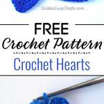 Crochet Hearts Free Pattern