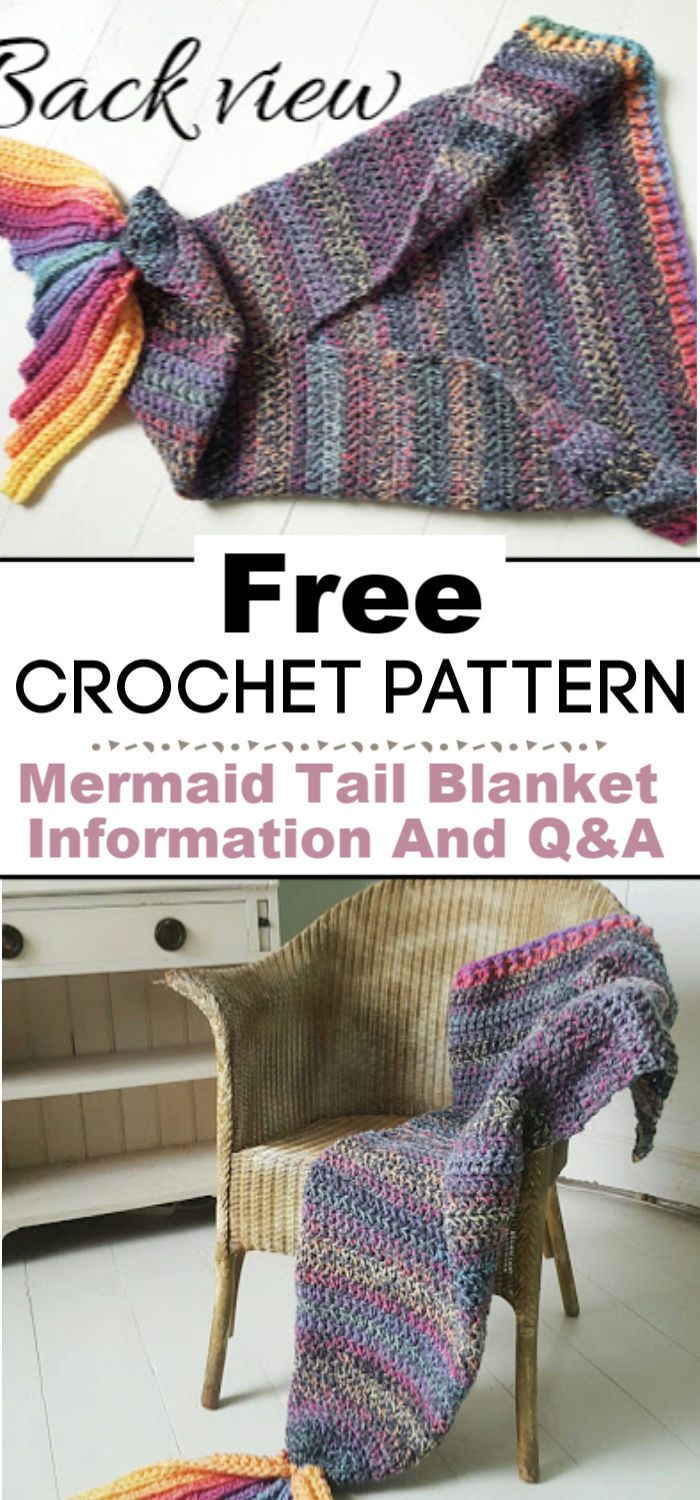 Crochet Mermaid Tail Blanket Pattern Information And QA