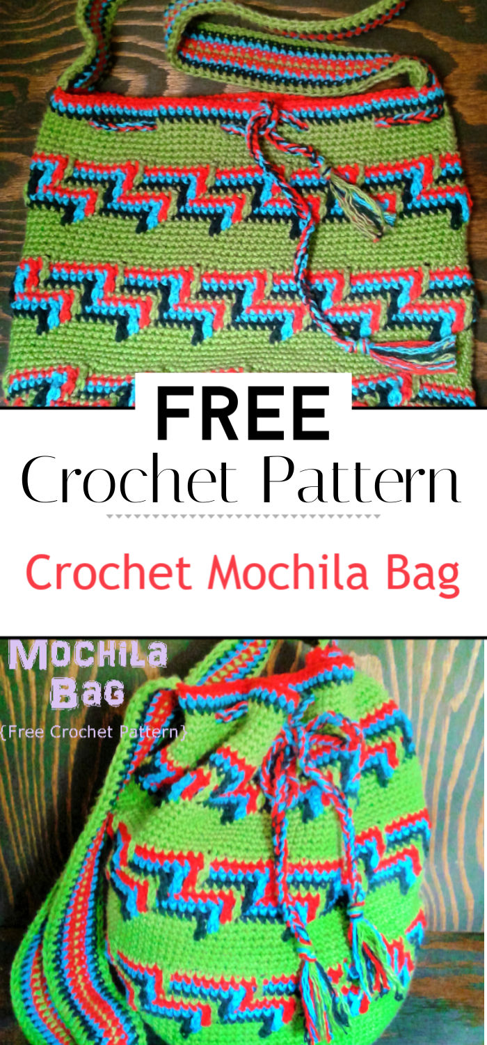 Crochet Mochila Bag Free Crochet Pattern
