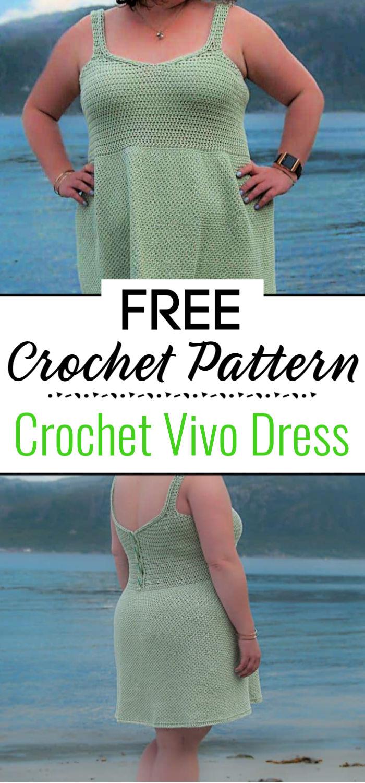 Crochet Vivo Dress Free Crochet Pattern