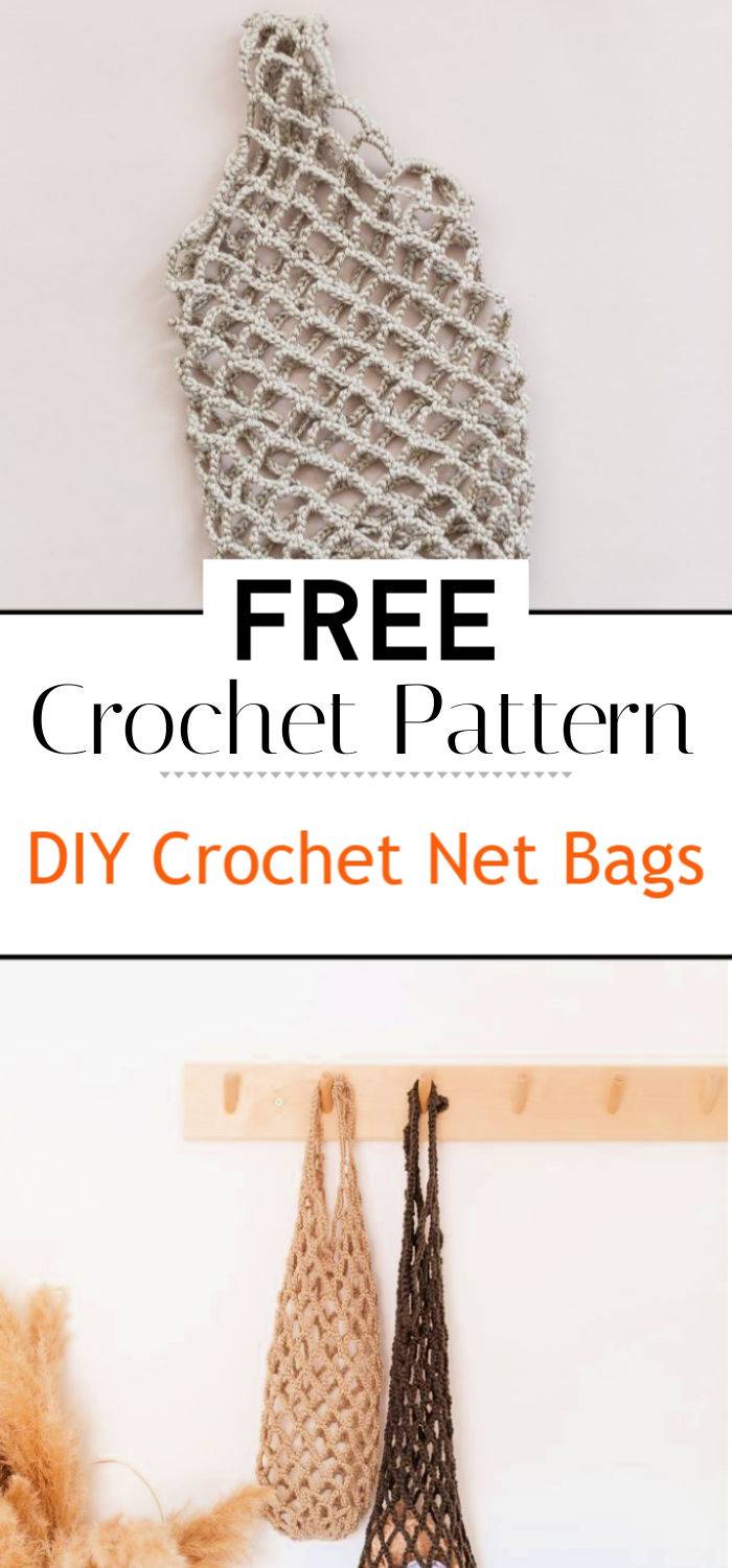 DIY Crochet Net Bags