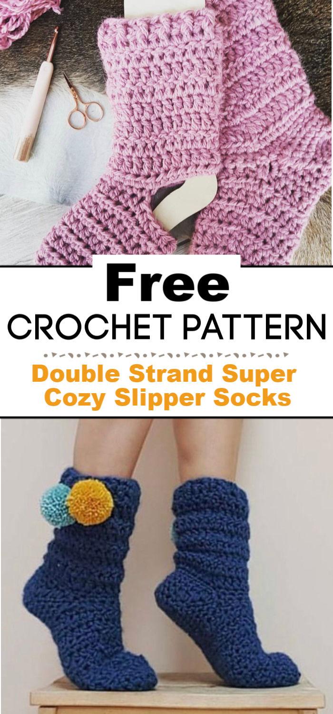 Double Strand Super Cozy Slipper Socks