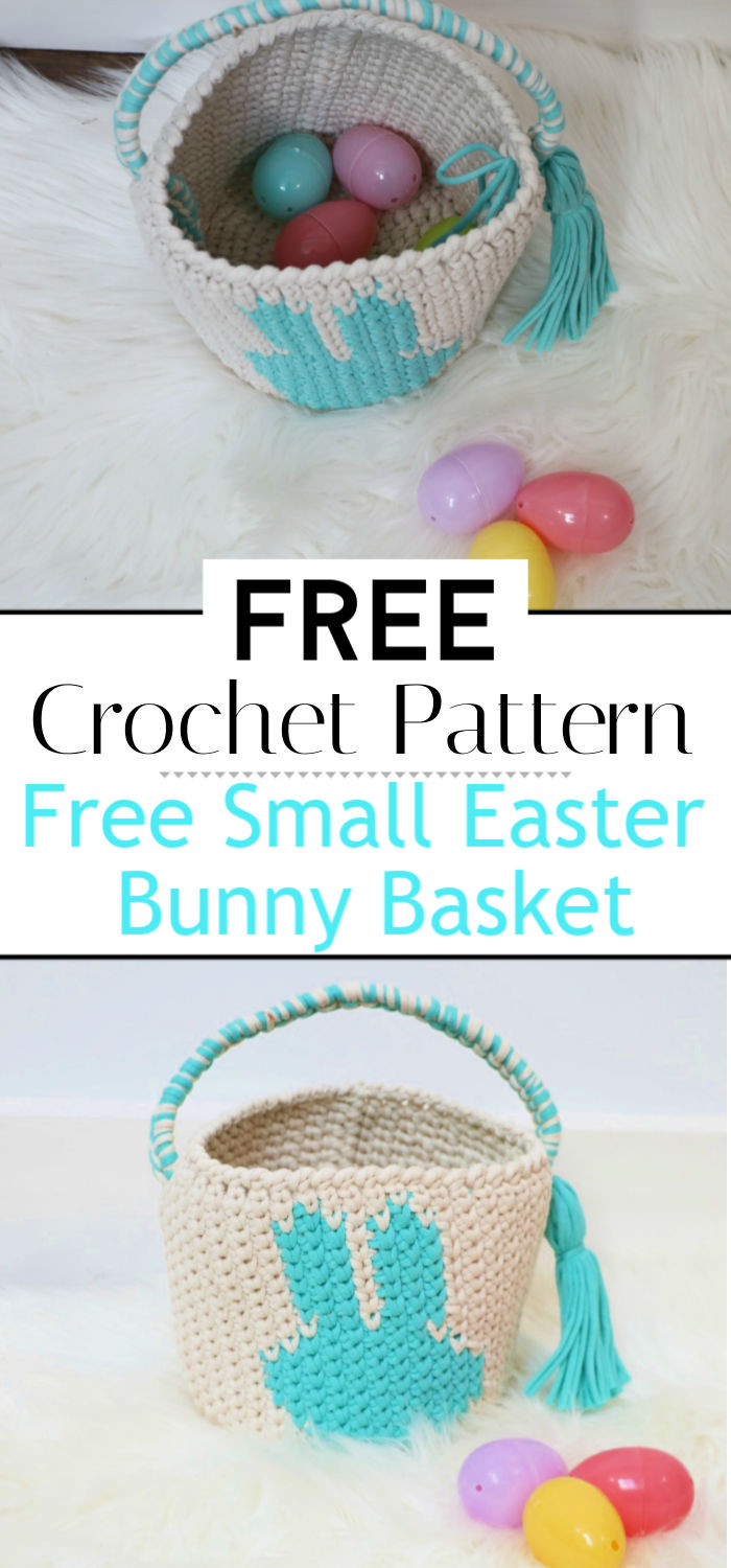 Free Small Easter Bunny Basket