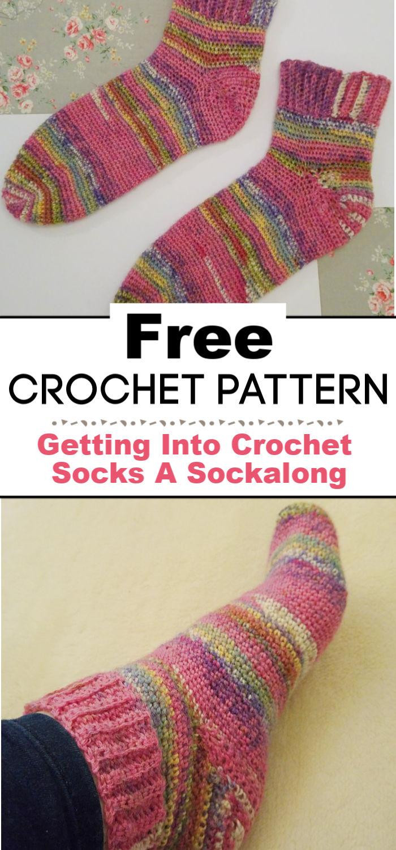 Getting Into Crochet Socks A Sockalong