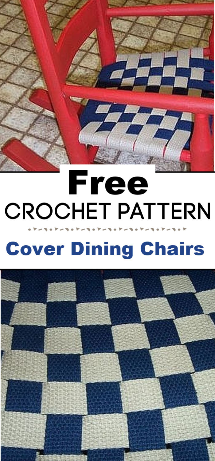 How to Cover Dining Chairs With Crochet